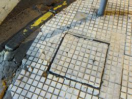 Typical example of a sidewalk in good repair