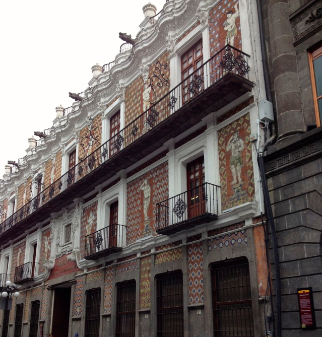 A typical building within the historical center.