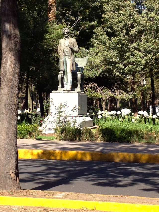 Old Abe in Lincoln Park, Polanco.