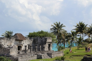 Tulum's claim to fame is a spectacular setting on the coast.