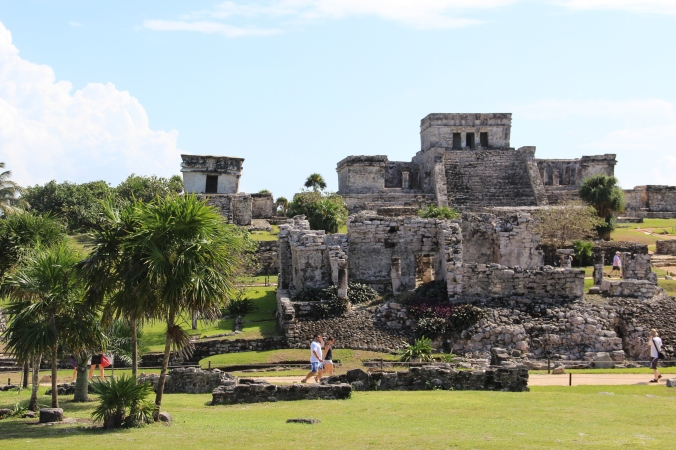 A small section of Tulum