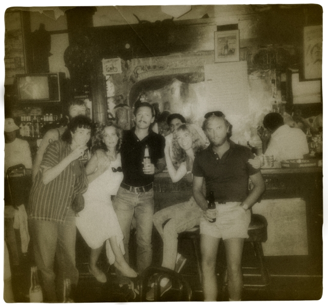 Hussong's infamous cantina in Ensenada, Baja, Mexico. This must have been 1985 or 86.