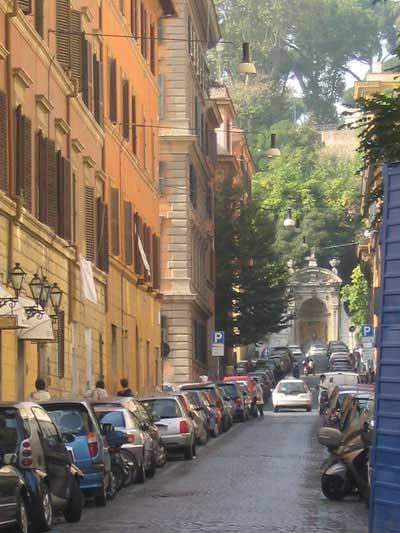 A street in Trastevere