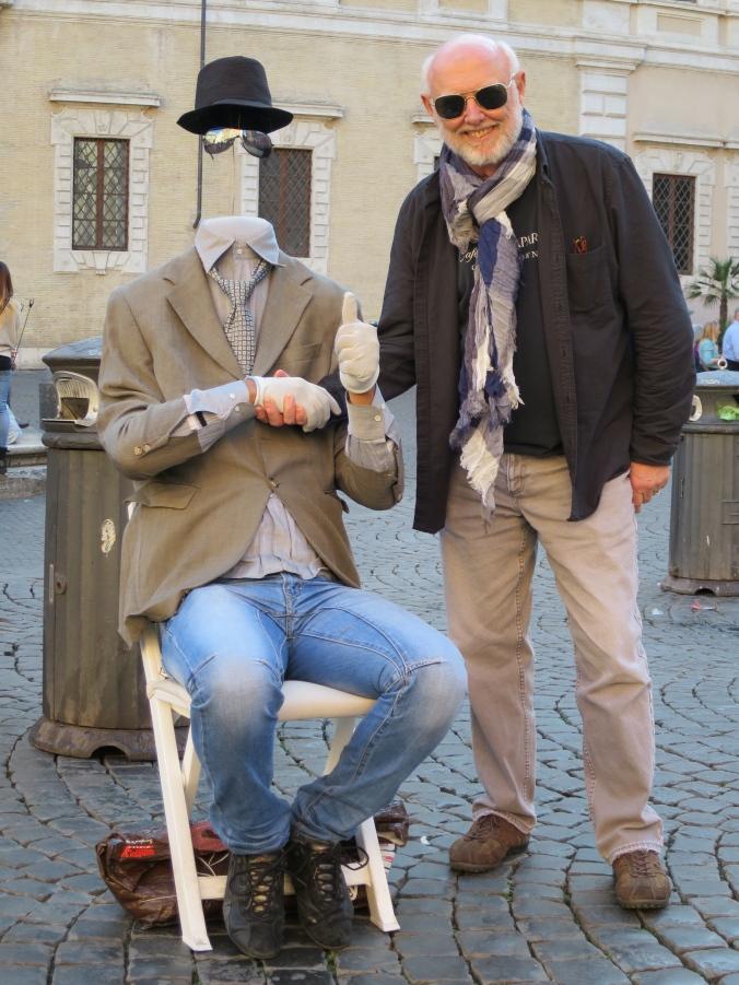 My first friend in Rome