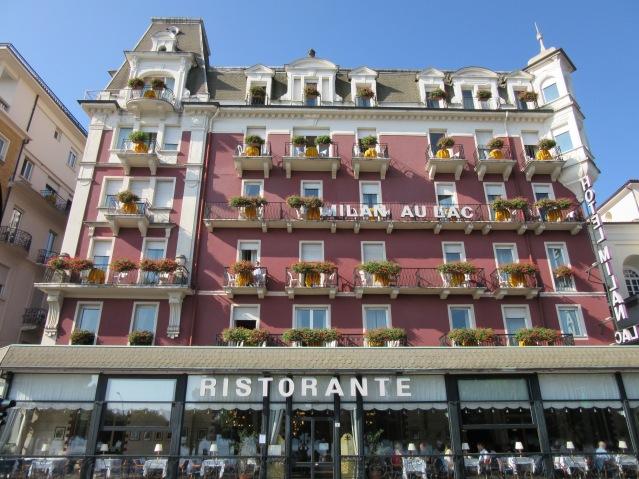 Hotel Milan Au Lac, Stresa, Lago Maggiore, Italy