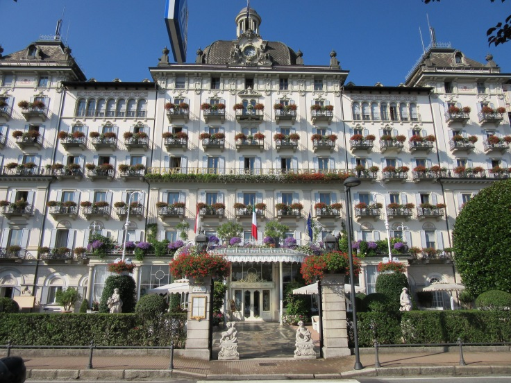 Grand Hotel where Hemingway stayed while in Stresa.