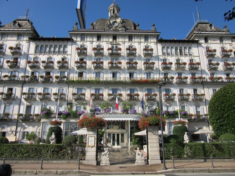 Grand Hotel where Hemingway stayed while in Stresa.